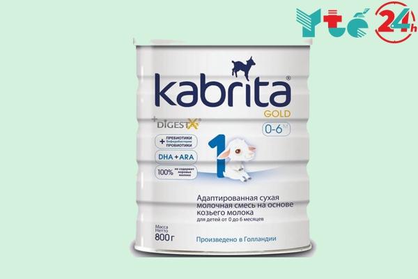 Sữa dê Kabrita Nga