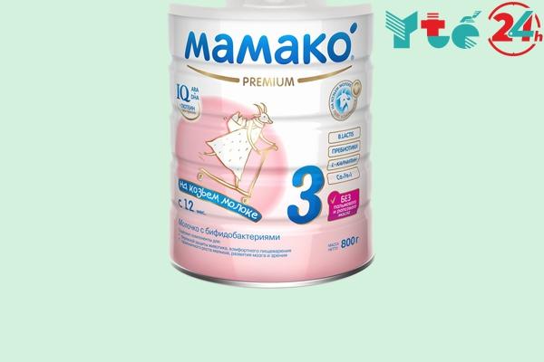 Sữa dê Mamako