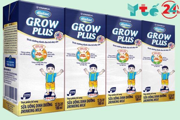 Sữa Dielac Grow Plus xanh