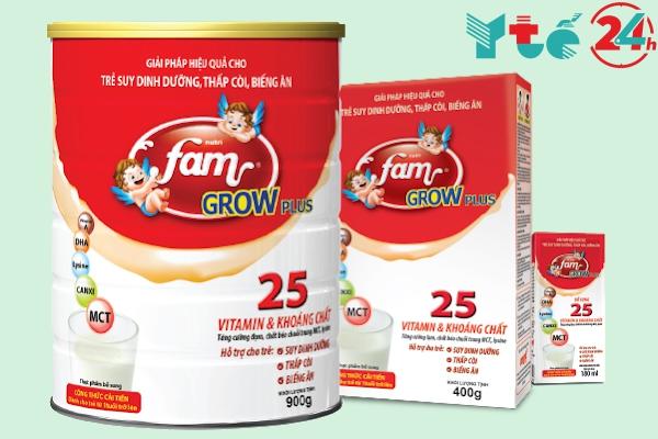 Sữa fam Grow Plus