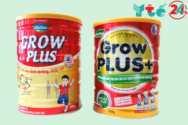 Sữa Grow Plus của Vinamilk hay Nutifood?
