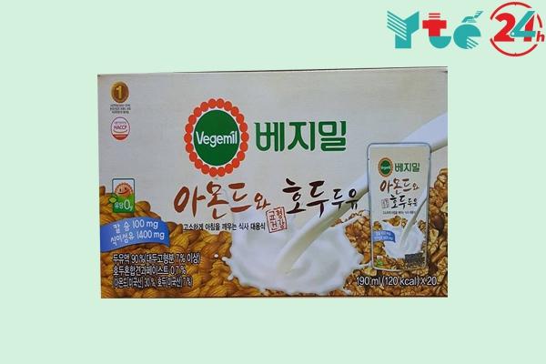 Sữa óc chó Hàn Quốc dạng hộp