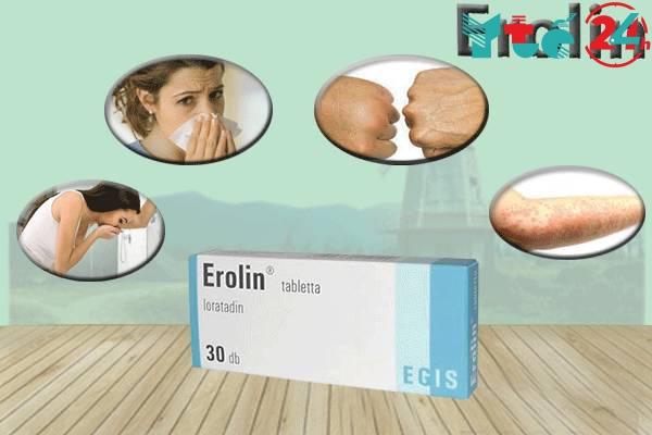 Tác dụng của thuốc Erolin
