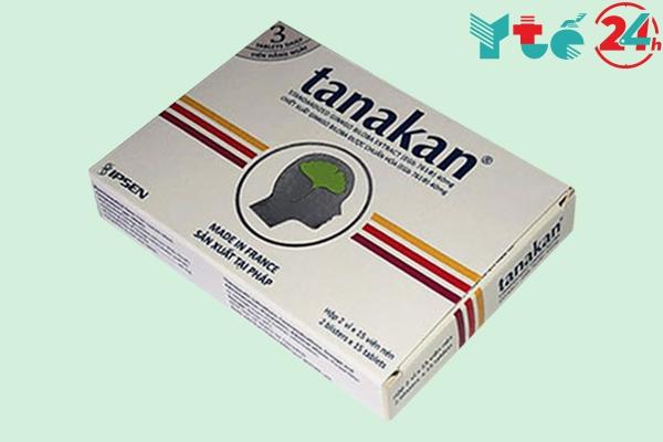 Hình ảnh hộp thuốc Tanakan 40mg