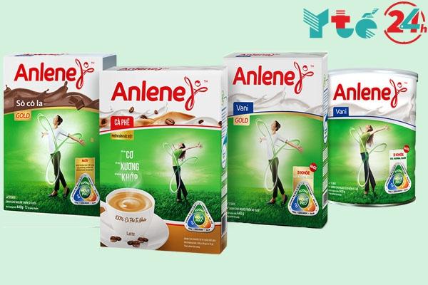 Thành phần sữa Anlene