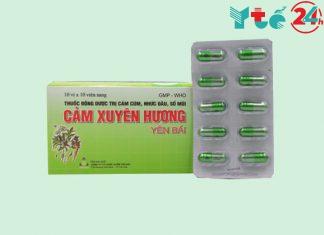 Vỉ thuốc Cảm Xuyên Hương