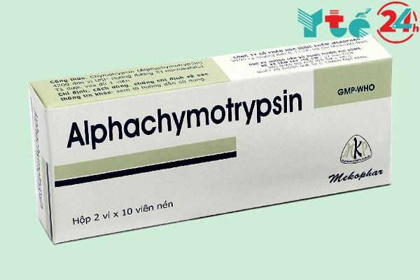 Thuốc Alphachymotrypsin 4,2 mg là gì?
