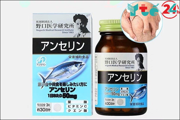 Viên uống hỗ trợ trị gout của Nhật Anserine Noguchi