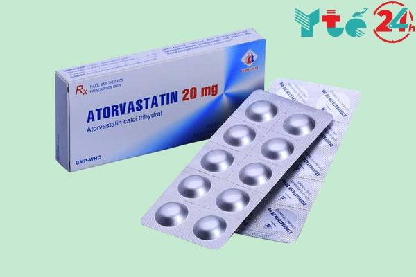 Thuốc Atorvastatin giúp hạ mỡ máu, ngăn ngừa bệnh tim mạch