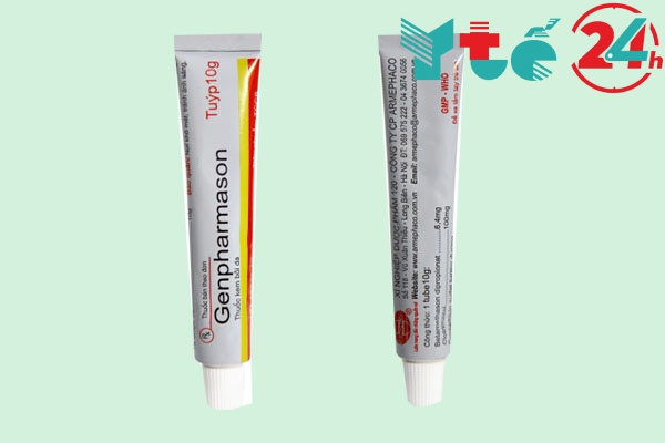 Tuýp thuốc Genpharmason 10g