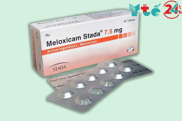 Thuốc kháng viêm giảm đau Meloxicam