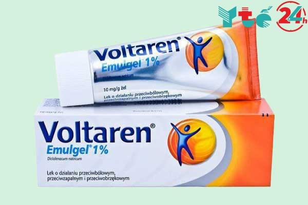 Thuốc bôi chống viêm tiêu sưng Voltaren