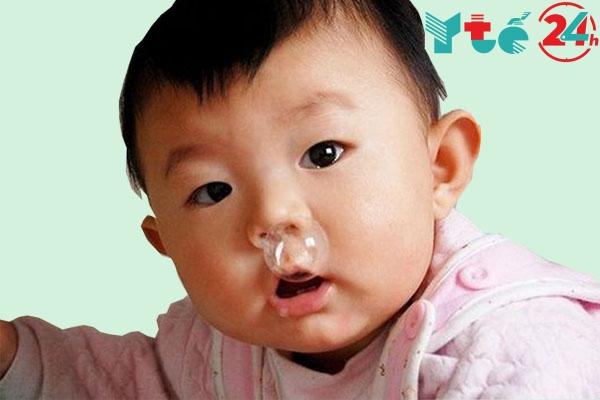 Thuốc nhỏ mũi iliadin cho trẻ sơ sinh