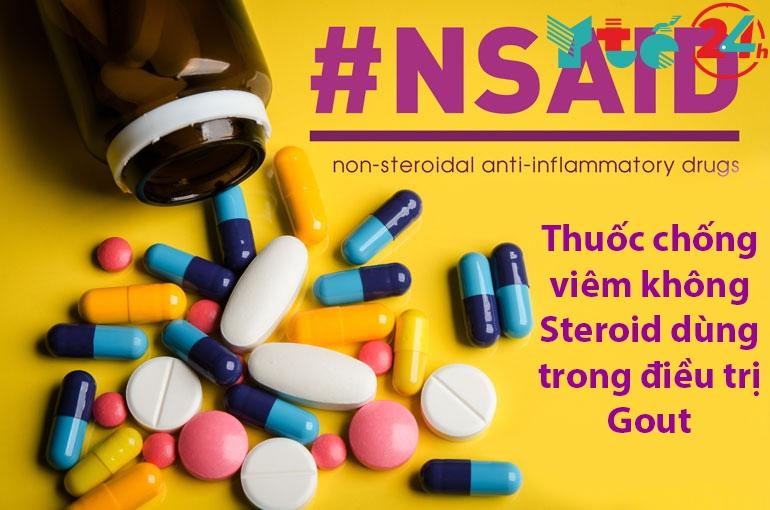 Thuốc chống viêm không Steroid điều trị bệnh gout