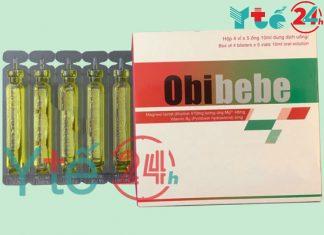 Thuốc Obibebe giúp tăng cường sức đề kháng ở trẻ