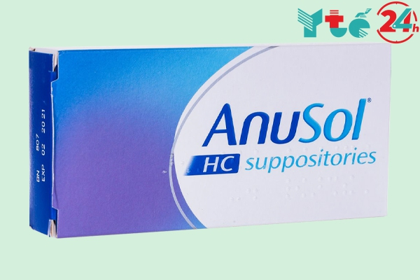 Thuốc đặt trĩ Anusol - HC