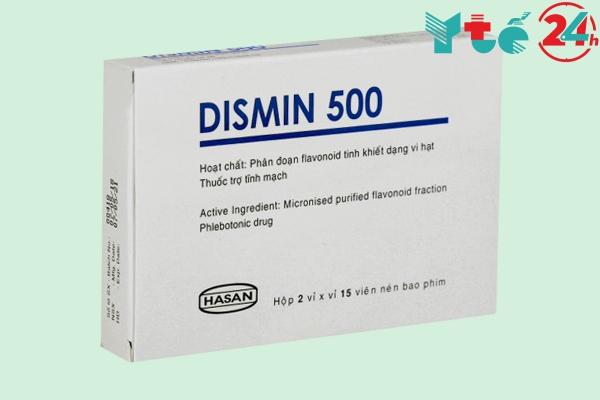 Thuốc trĩ Dismin 500