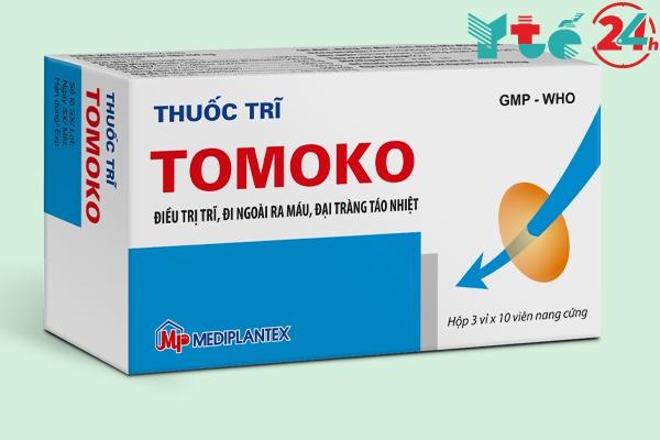 Thuốc trị bệnh trĩ Tomoko