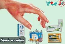 Thuốc trị bỏng