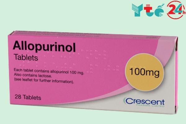 Thuốc trị gout Allopurinol