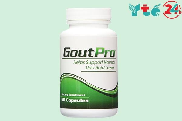 GoutPro hỗ trợ điều trị gout