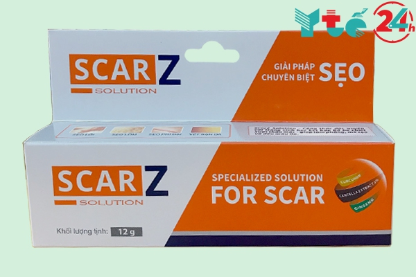 Thuốc trị sẹo Nhật Bản Scarz Solution