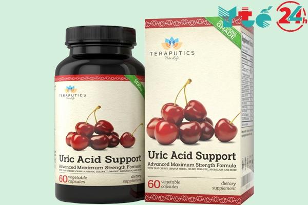Viên uống hỗ trợ điều trị gout hiệu quả Uric Acid Support