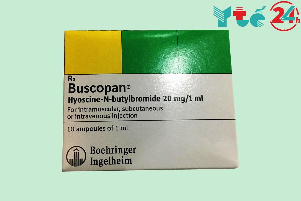Thuốc Buscopan có cả dạng thuốc tiêm tĩnh mạch