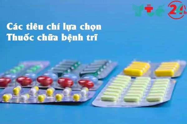 Các tiêu chí để lựa chọn thuốc điều trị trĩ