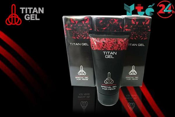 Titan Gel được sản xuất tại Nga