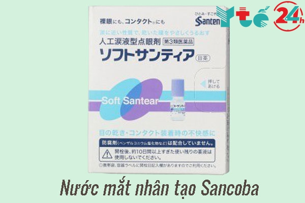Nước mắt nhân tạo cho trẻ em Sancoba
