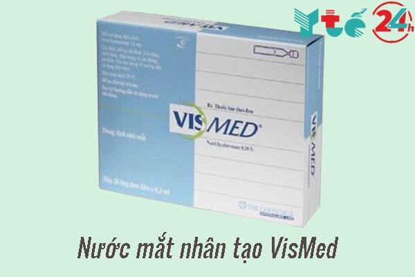 Thuốc nước mắt nhân tạo Vismed