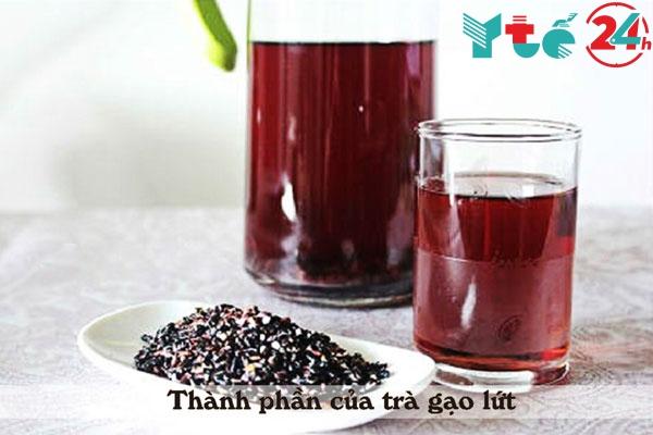 Thành phần của trà gạo lứt