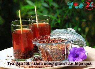 Trà gạo lứt giúp giảm cân an toàn và hiệu quả
