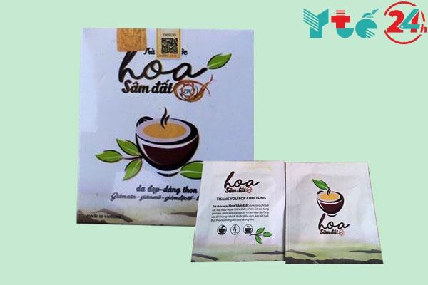 Công dụng của trà thảo mộc Hoa Sâm Đất