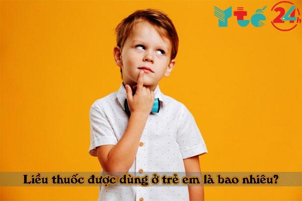 Thymomodulin dùng để tăng sức đề kháng ở trẻ