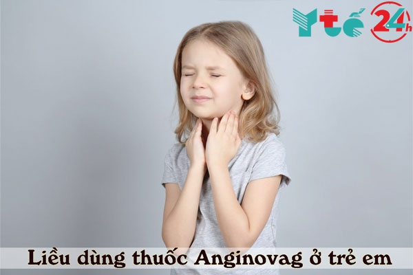 Liều dùng thuốc xịt Anginovag 10ml ở trẻ em như thế nào?