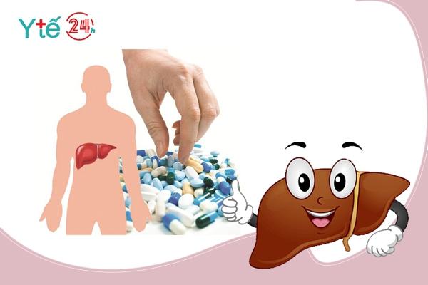 Uống thuốc bổ gan đúng cách