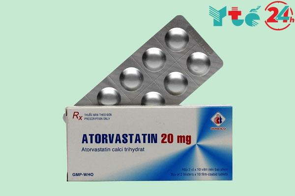 Hướng dẫn phân biệt thuốc Atorvastatin thật, giả