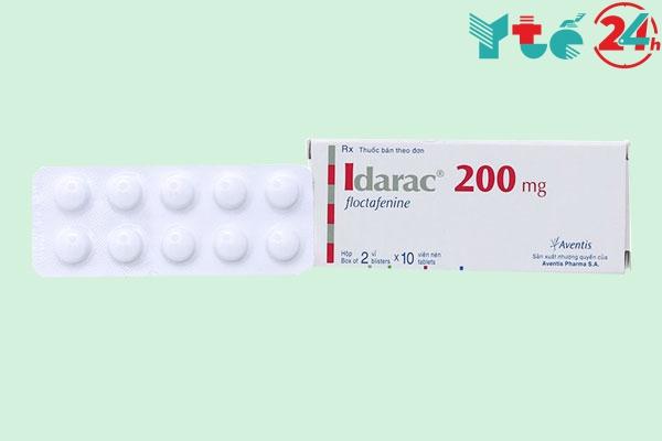 Lưu ý khi sử dụng thuốc Idarac floctafenine 200mg