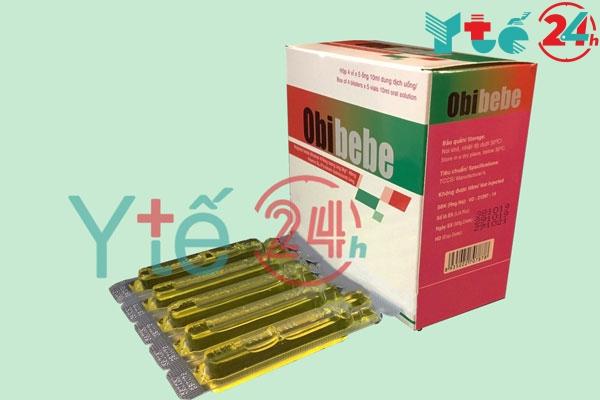 Obibebe 10ml là thuốc gì?