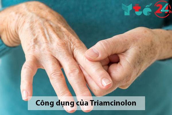 Công dụng của Triamcinolon