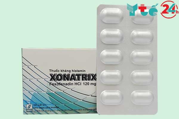 Công dụng của thuốc Xonatrix