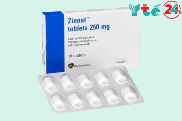 Giá thuốc Zinnat bao nhiêu