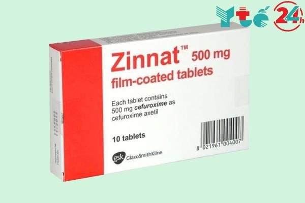 Liều dùng của kháng sinh Zinnat