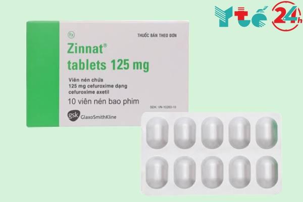 Thành phần thuốc Zinnat