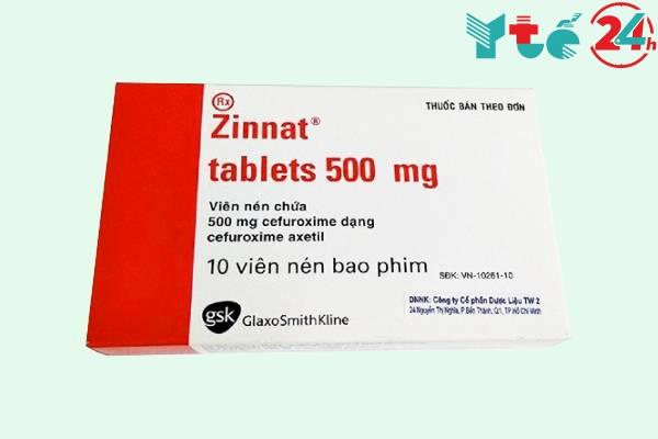 Thành phần thuốc Zinnat 500mg