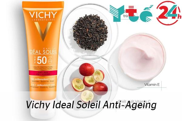 Kem chống nắng Vichy Ideal Soleil Anti-Ageing