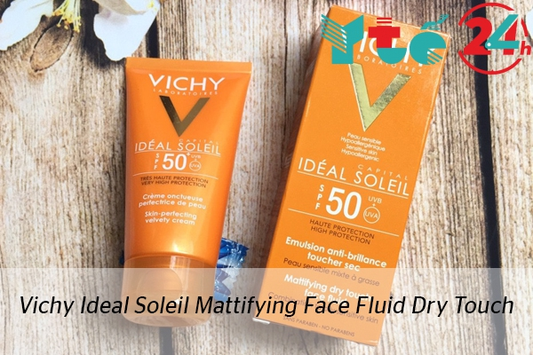 Kem chống nắng Vichy Ideal Soleil Multifying Face Fluid Dry Touch