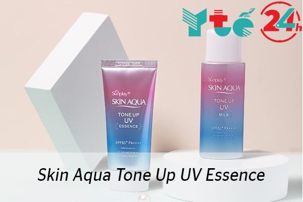 Kem chống nắng Skin Aqua Tone Up UV Essence SPF50+ PA++++